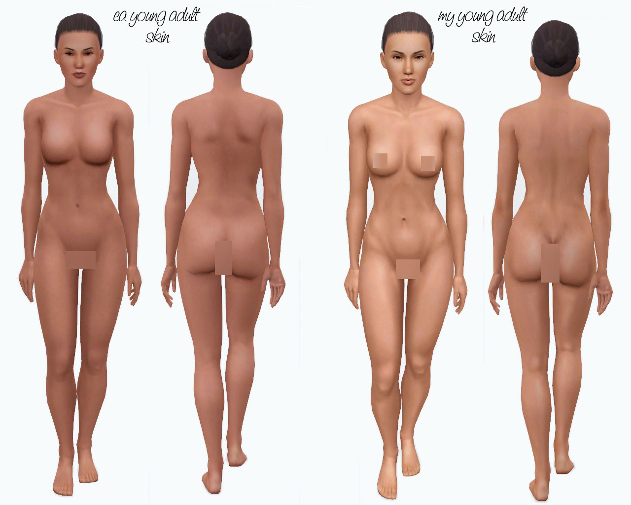 Sims 2 nude body skins xxx galleries