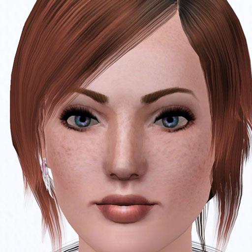 Busty body freckle