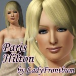 Paris without contact lenses and just the Multifoiled Eyes.