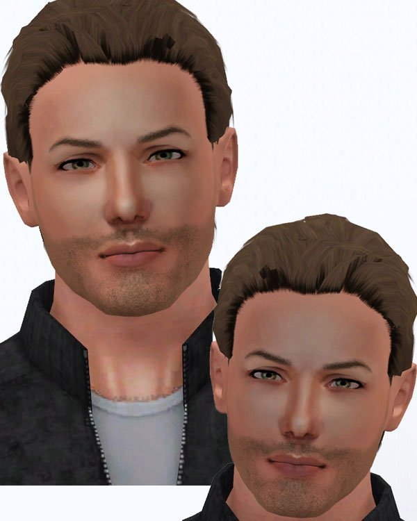 Dean is sort of looking like himself. I need to tweak heaps of things though. Blah.